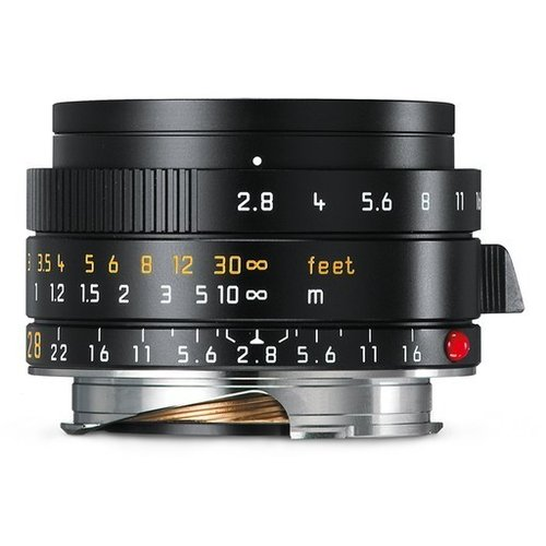 Leica Elmarit F2,8/28mm ASPH.- Black