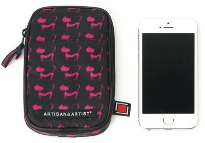 Artisan & Artist GLT2-907 Designer iPhone/Make Up Bag